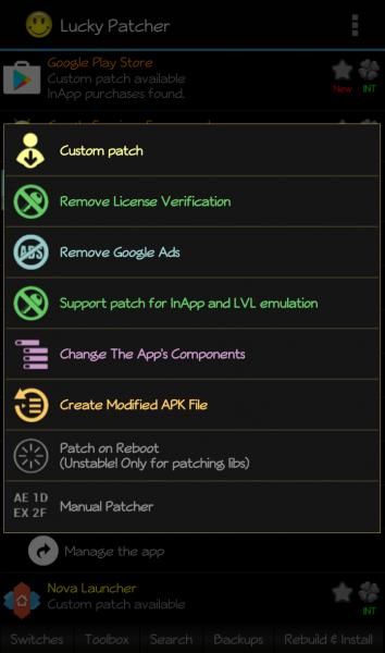Lucky Patcher APK Modify Patch Apps