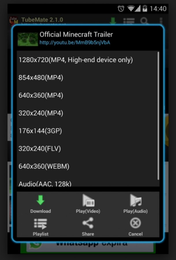 Download TubeMate Videos Downloader APK For Android [August Update