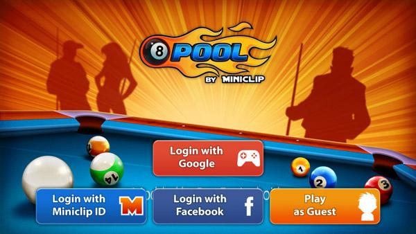 8 Ball Pool Mod apk Game Startup