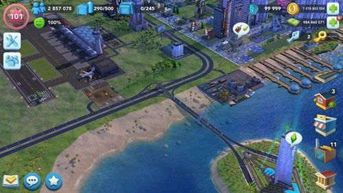SimCity BuildIt Mod Apk Android