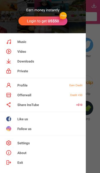 InsTube APK Music & Video Downloader