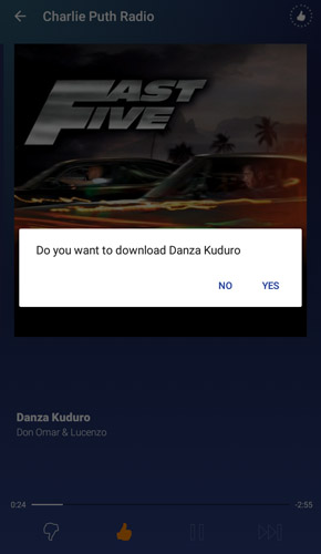 2 - Pandora cracked mod apk music download prompt