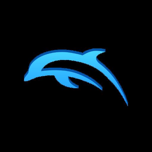 dolphin emulator apk logo