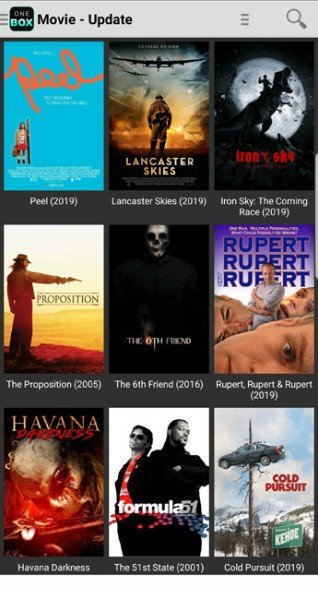 onebox hd movies section