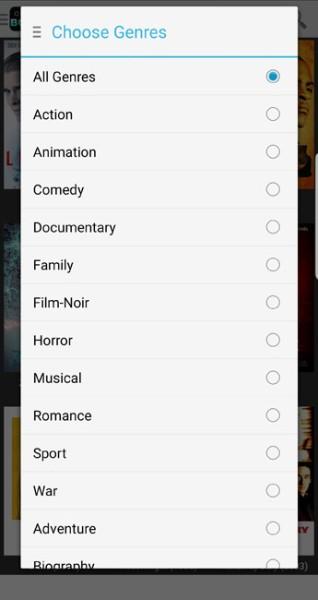 onebox hd genres list