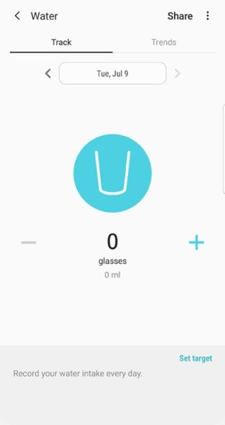 daily water consumption tracker