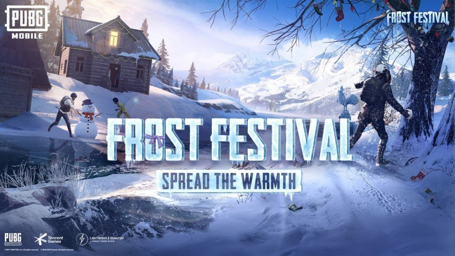 PUBG Mobile Frost Festival APK Android