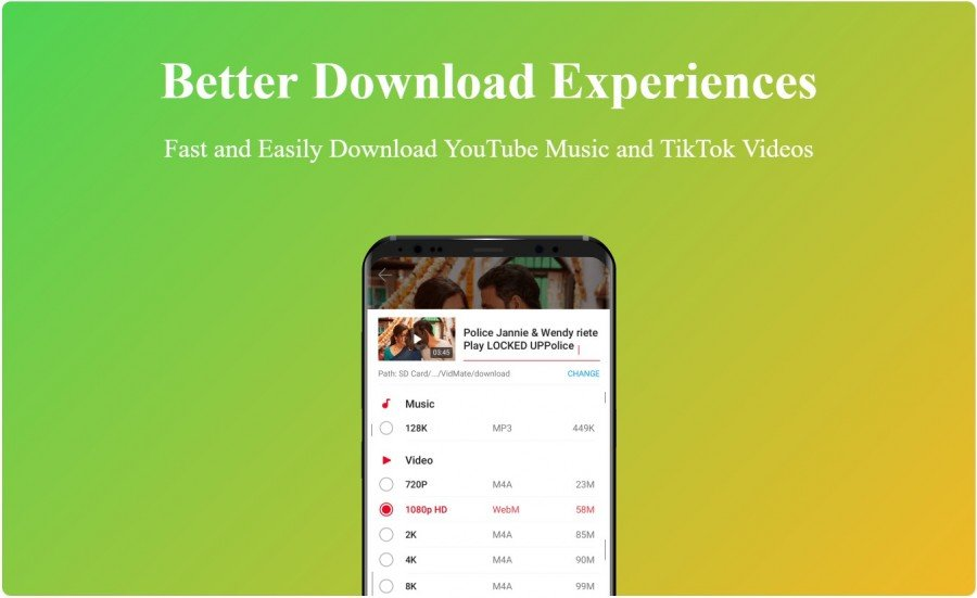 vidmate ultimate video download experience