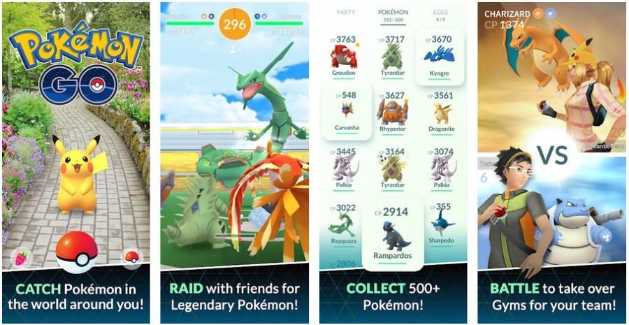 Pokemon Go mod apk screenshots