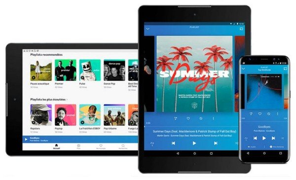 deezer for android phone and tablet