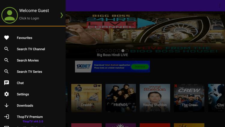 thoptv live screenshots