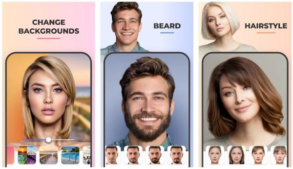 faceapp mod screenshots