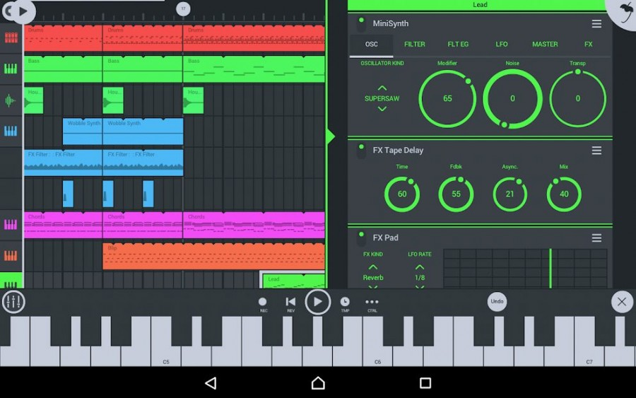 fl studio mobile screenshot 1