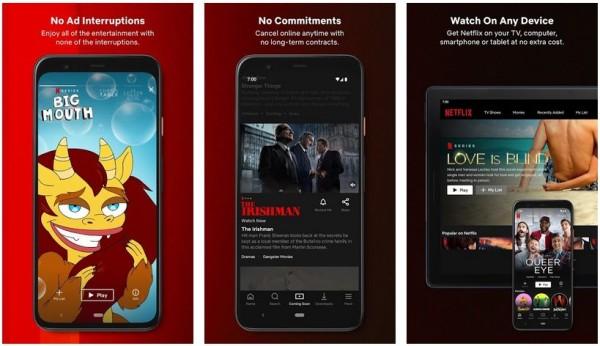 скриншоты netflix