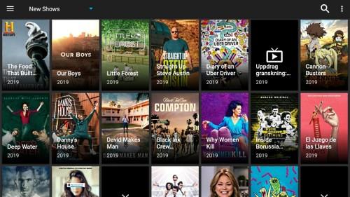 titanium tv screenshot