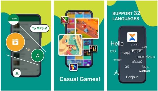 xender screenshots