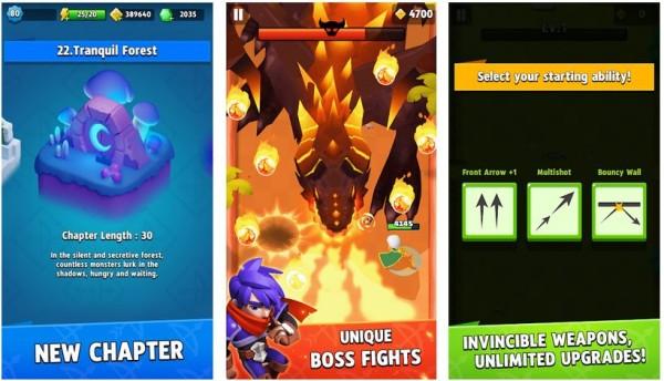archero mod screenshots