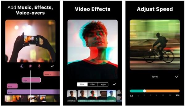 inshot pro скриншоты для Android
