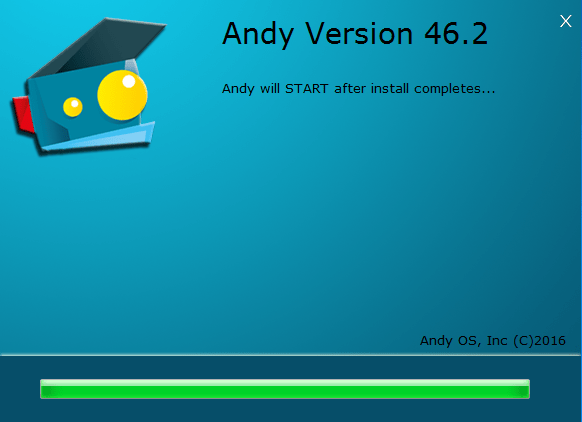 Andy OS - Installation - Android Apps On PC