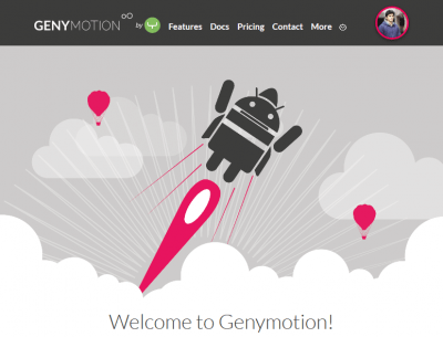 GenyMotion - Account Activated - Android App On PC