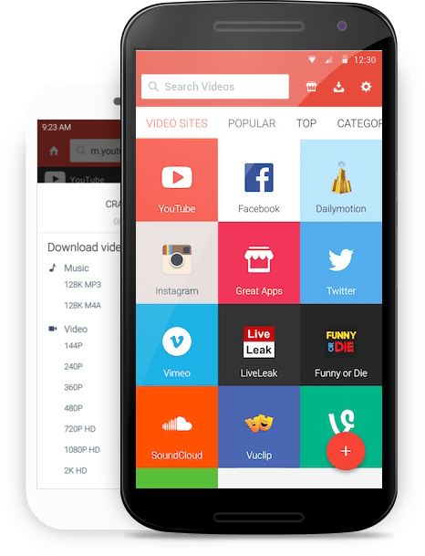 SnapTube Best Video Downloader App For Android