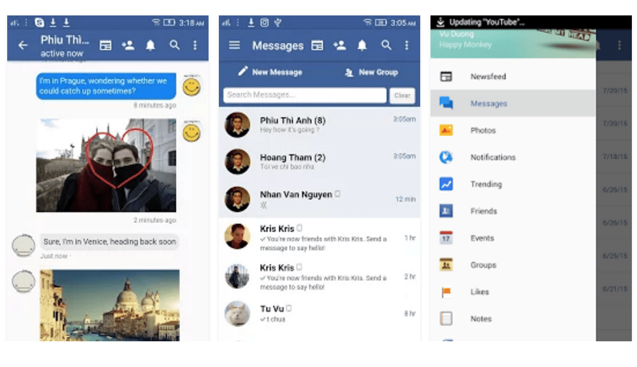 Facebook lite latest version free download for android