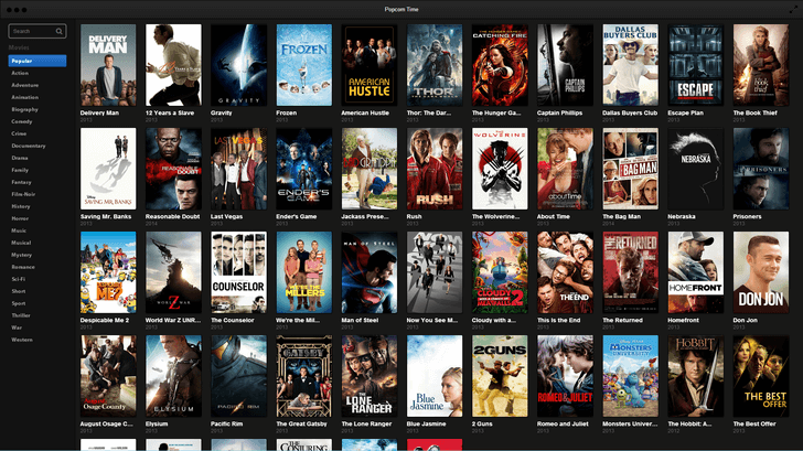 popcorn time android movie streaming