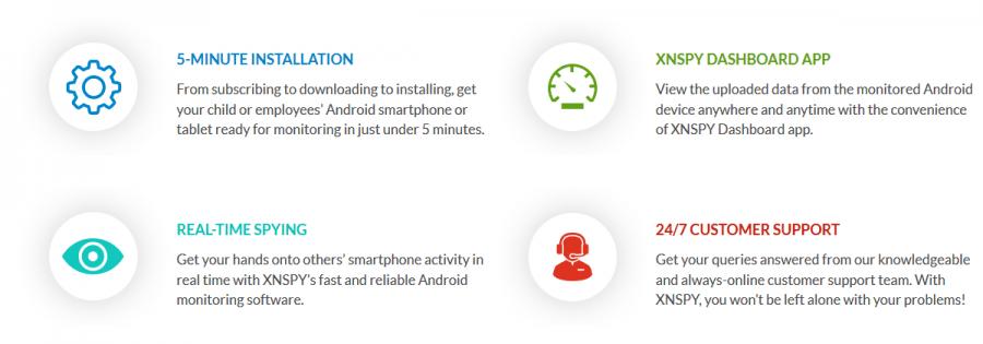 XNSPY Android Spy App 2