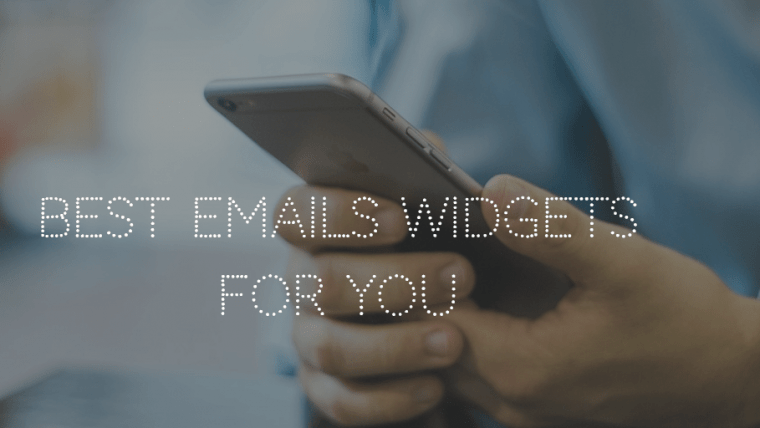 Email Widgets