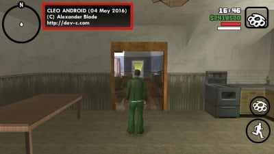 GTA San Andreas Load Game with CLEO Scripts