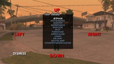 GTA San Andreas CLEO Cheat Codes List