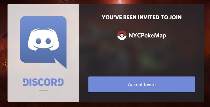 Pokemon Sniping Discord - (11) NYCPokeMap