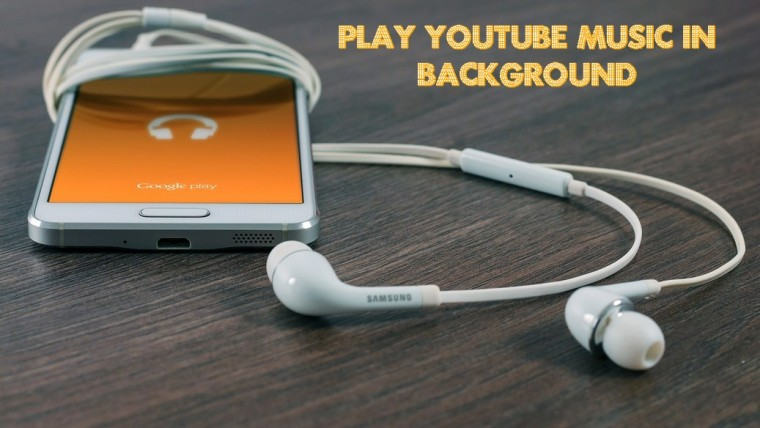 play YouTube in background on Android