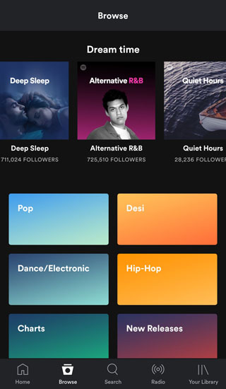 get spotify premium for free android ui