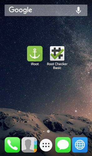 iRoot root Android without PC