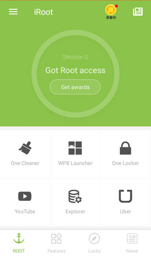 iRoot app to root Android without PC