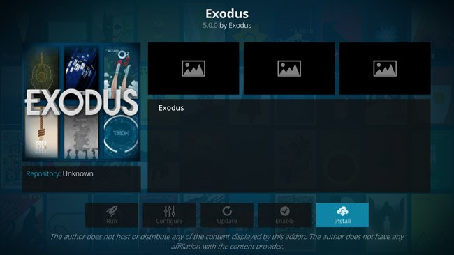 installing Exodus on Kodi