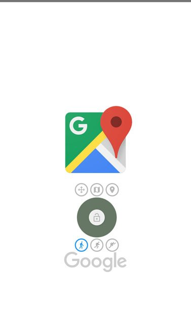 launch Google Maps to test gps joystick location spoofing