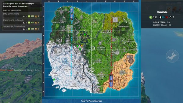 fortnite android island map