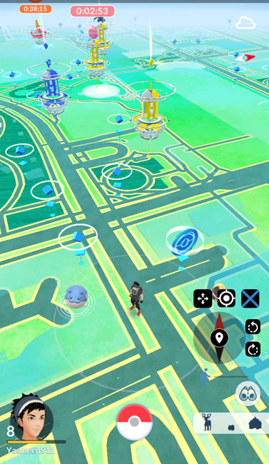 using fgl pro joystick to spoof location in pokemon go with rooted android device