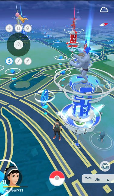 spoof location in pokemon go with joystick