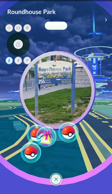 spinning pokestops while spoofing with root
