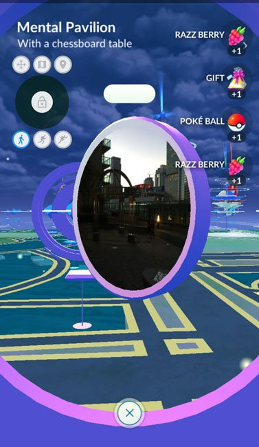 spinning pokestops while location spoofing with root
