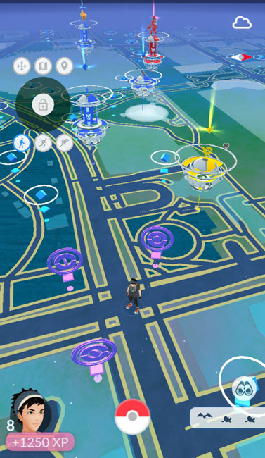 pokemon location spoofing with root and joystick