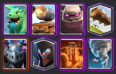 best clash royale deck arena 10a