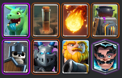 best clash royale deck arena 11a