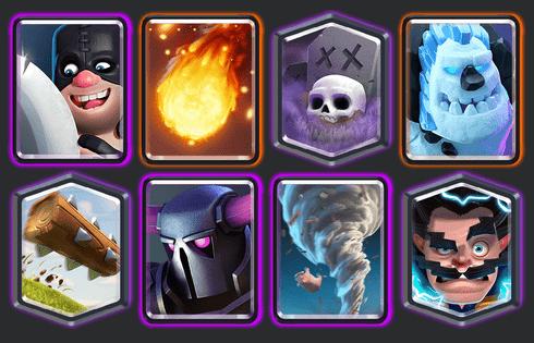 best clash royale deck arena 12b