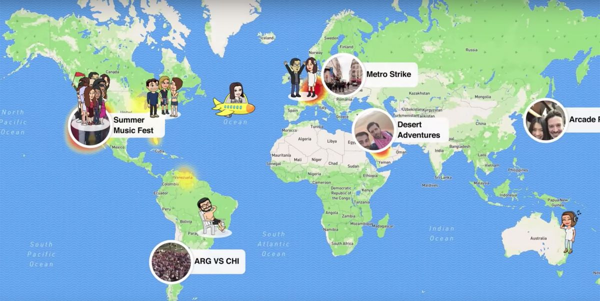 snap map image