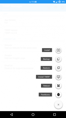 how to install twrp recovery using TWRP Manager app