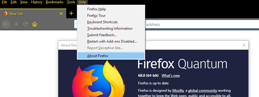 update Mozilla Firefox to fix Spotify Web Player not working problem